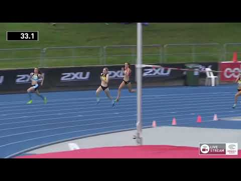 U18 Womens 400m - Heat 1 - 2018 Australian Junior Athletics Championships