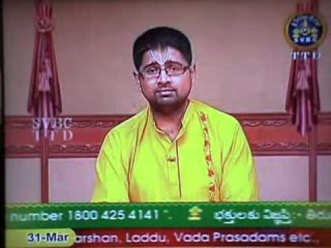 31 Mar 2015 Daya Sathakam Upanyasam Sri.Dushyant Sridhar in SVBC TV