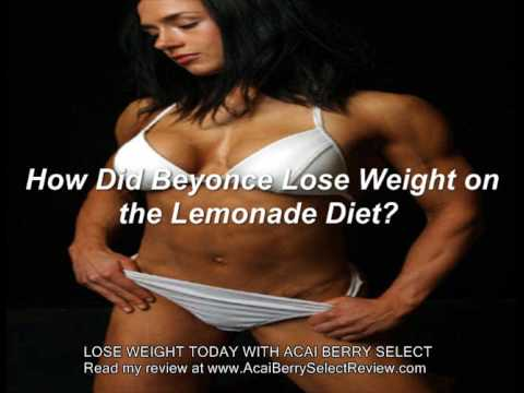 How Did Beyonce Lose 20 Pounds on the Lemonade Diet? - YouTube
