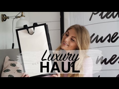 LUXURY HAUL & UNBOXING | GUCCI, CHLOE, FARFETCH, GOLDEN GOOSE, ASPINAL, MARC JACOBS | SINEAD CROWE
