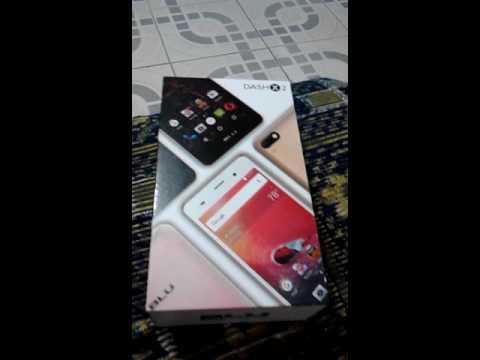 Umboxing Celular Blu Dash X2