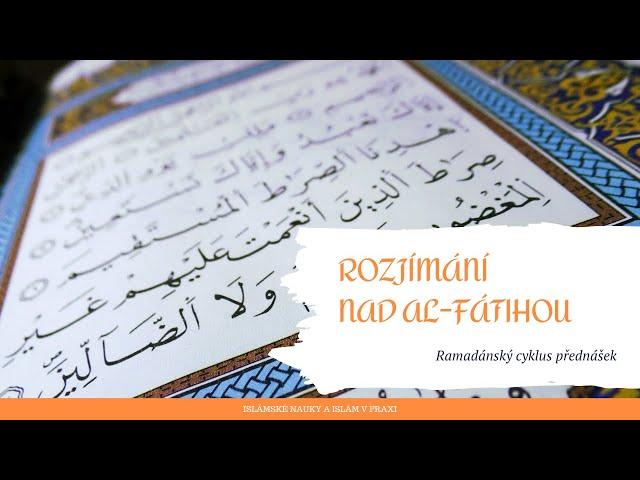 2. Jak rozjímat nad Koránem?