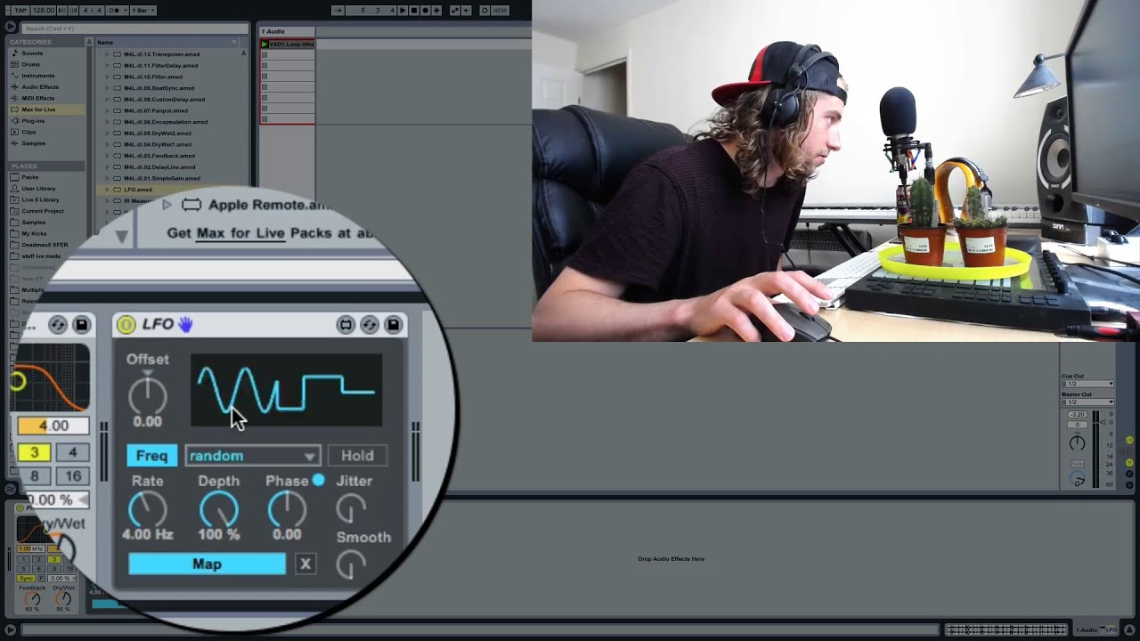 how to add glide on ableton samplers
