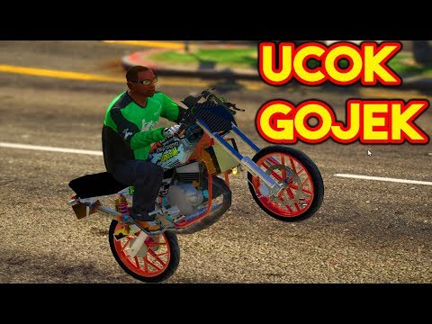 UCOK NGEGOJEK NAIK RX KING RACING ! || GTA 5 MOD BAHASA INDONESIA