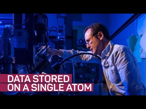 IBM found a way to put data into an atom