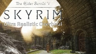 Skyrim – Ultra Realistic Overhaul Mod Collection vs. Vanilla Comparison [WQHD]