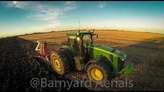 John Deere Biggest 8R - 8370R Plowing