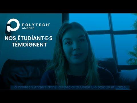 Nos étudiant·es témoignent : Laura, spécialité GBS - Polytech Angers
