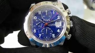 Tudor Tiger Prince Date Chronograph ref.79280 Cobalt Blue dial Serial H17537x Function Testing