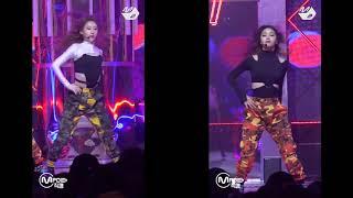 ITZY (있지) - CHAERYEONG 채령 AND RYUJIN 류진 '달라달라 DALLA DALLA' DANCE COMPARISON