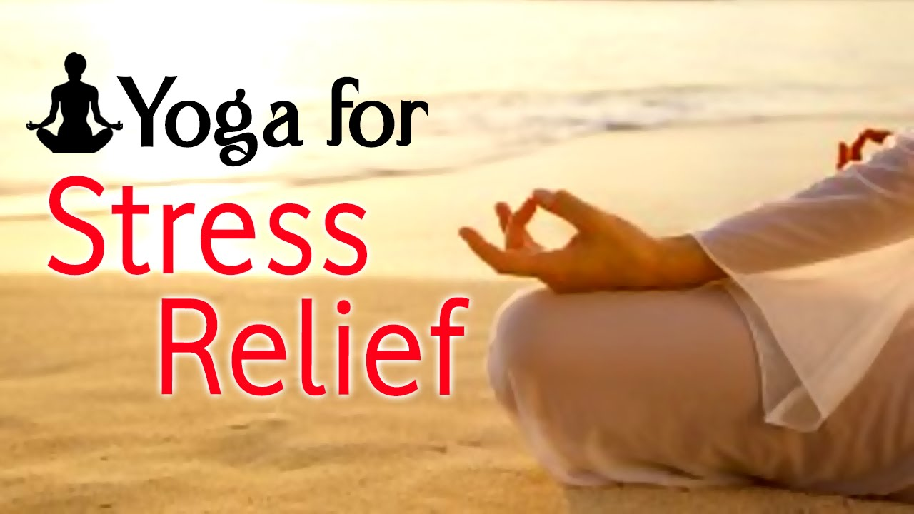 Image result for yoga for stress relief
