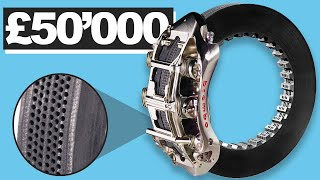Why These Brakes Cost £50'000 : F1 Brakes Explained
