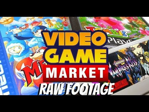 Video Game Market August 12th 2017 Doncaster Dome Raw Footage/Tour