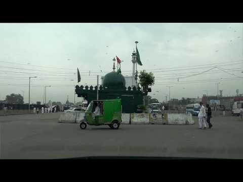 Lahore Azadi Square | Fort Road | Shahi Qila Outer Ride | Pakistan