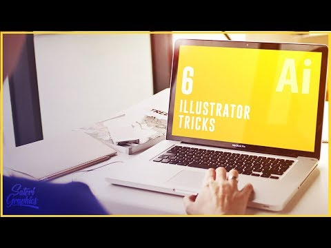 6 ILLUSTRATOR TRICKS FOR GRAPHIC DESIGN WORKFLOW