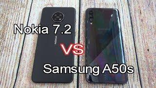 Nokia 7.2 vs Samsung Galaxy A50s | SpeedTest and Camera comparison