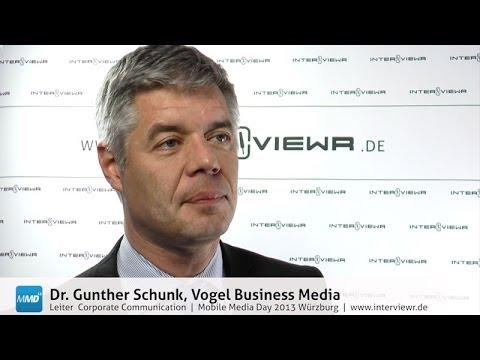 Dr. Gunther Schunk über Mobile Media in einem Fachverlag