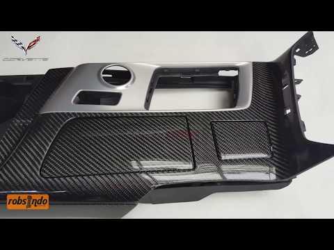 C7/Z06 Corvette Center Console Carbon Fiber