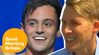 Dustin Lance Black On Fiancé Tom Daley's Olympic Success | Good Morning Britain