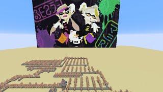 マイクラ節 (Calamari Inkantation) Splatoon × Minecraft