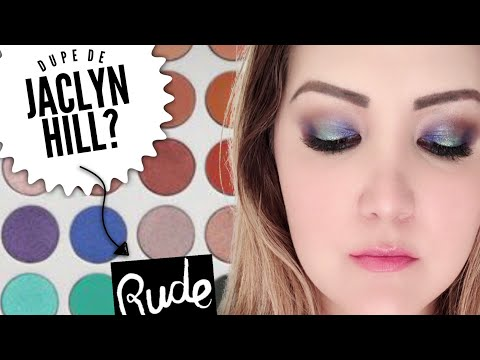 PROBANDO MAQUILLAJE RUDE | DUPE JACLYN HILL thumbnail