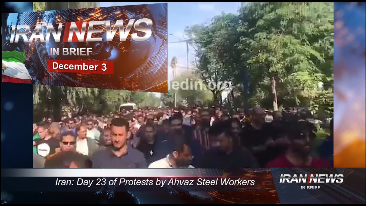 Iran news in brief, December 3, 2018
