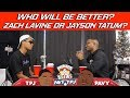 Will Zach Lavine or Jayson Tatum be better long term | Hoops N Brews