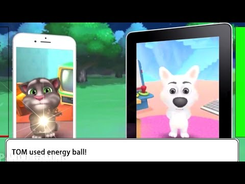 Kid Tom Vs Talking Dog (Pokemon Battle Style)