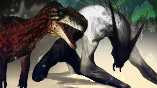 TRANSFORMATION! - The Isle - Tissoplastic ..CANNIBAL? Rugops & Monolophosaurus - Gameplay