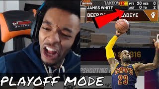 FlightReacts Goes LEBRON Playoff Mode After Getting Drop Off In NBA 2K19 Park | *Funny & Rage*