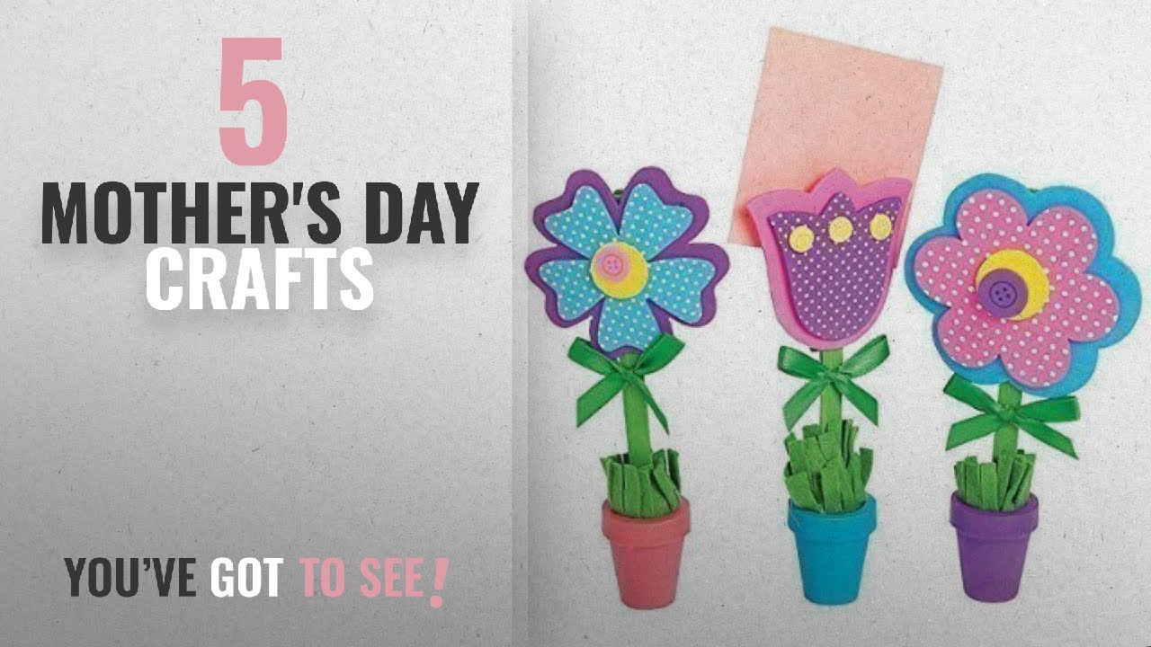 Top 5 Mother S Day Crafts 2018 Flower Recipe Or Picture Holder