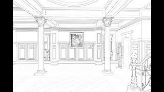 How to draw a museum | কিভাবে আঁকবো একটি জাদুঘর |