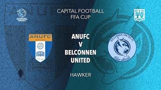2019 NPL Capital FFA Cup - ANU FC v Belconnen United