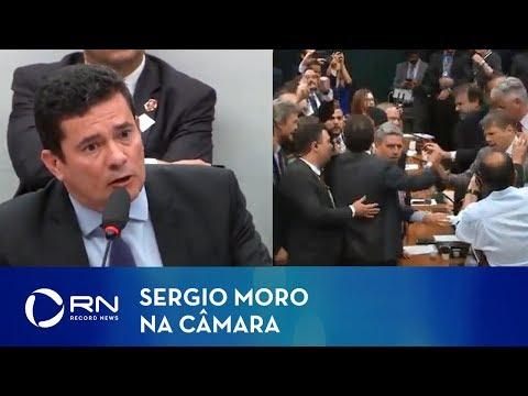 Veja como foi a audiência com Sergio Moro na Câmara