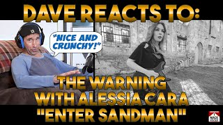 Dave's Reaction: The Warning With Alessia Cara — Enter Sandman