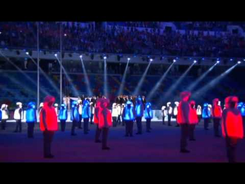Sochi 2014 - State Anthem of the Russian Federation