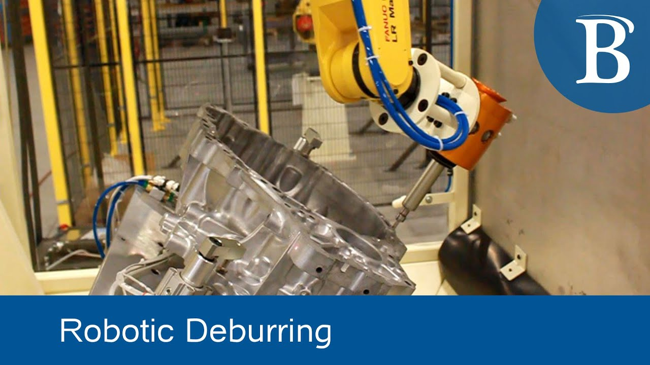 Robotic Deburring By Bastian Solutions Youtube
