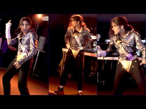 Michael Jackson JAM LIVE at Independance Club (4K) - Impersonator Alex Blanco