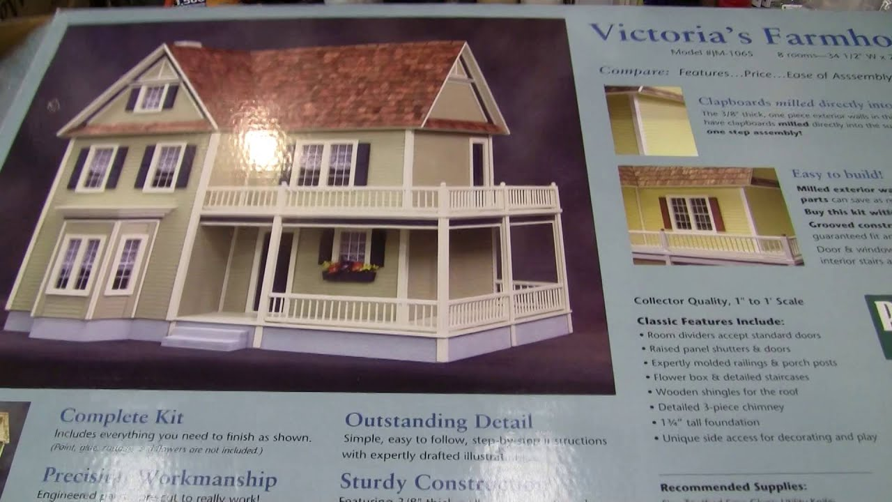 Victorias Farmhouse From Real Good Toys Doll House Project