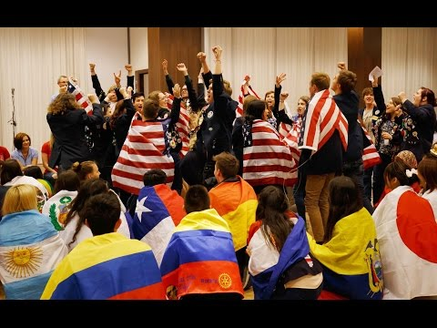 Rotary District 2240 Annual Conference 2015 – Exchange Students Performance