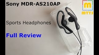 sony MDR-AS210AP Sports Headphones Review