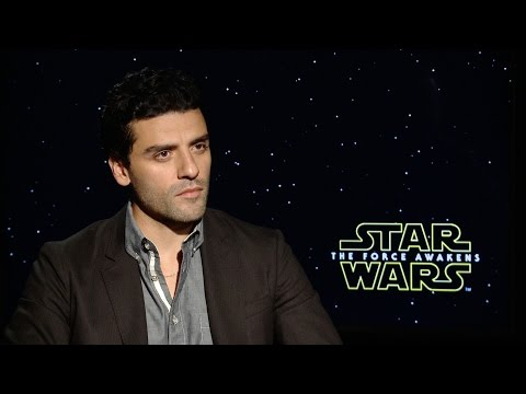 Star Wars The Force Awakens Interview w/ Oscar Isaac