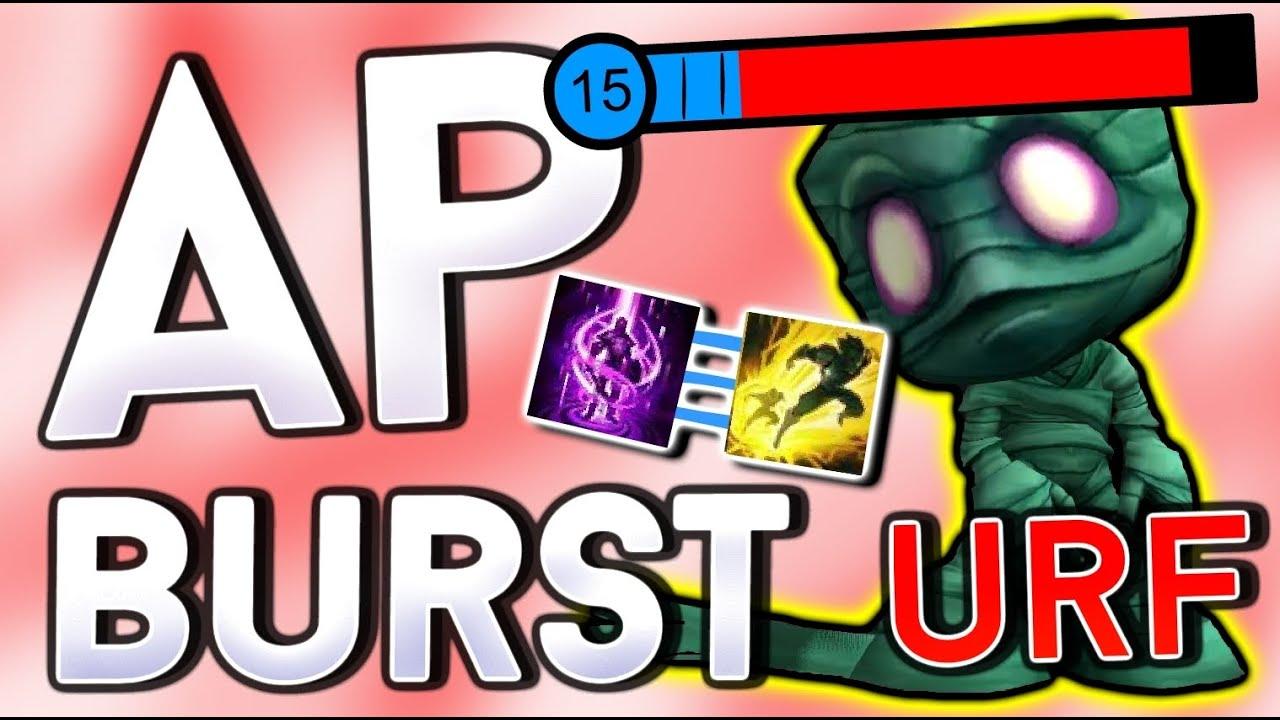 FULL AP AMUMU THE BURST KING - URF League of Legends