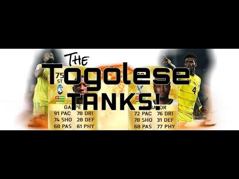 THE TOGOLESE TANKS | FT ADEBAYOR AND GAKPE | FUT 16