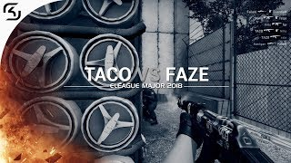 ELEAGUE Major 2018: TACO vs FaZe