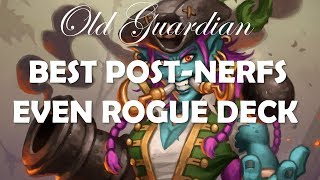 Best Even Rogue Deck (Hearthstone Rastakhan post-nerfs guide)