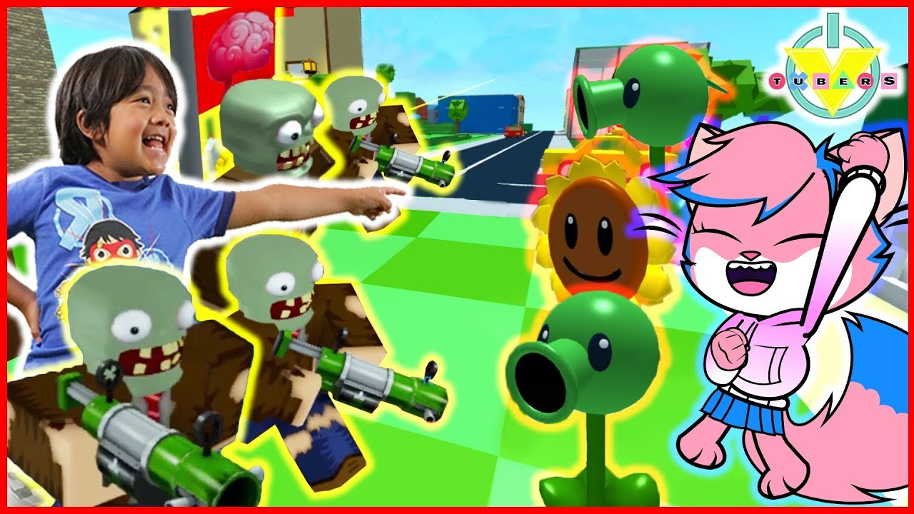 Roblox Plantas Vs Zumbis Roblox Plants Vs Zombies Roblox Plants Vs Zombies Battlegrounds Let S Play With Ryan Vs Alpha Lexa Youtube