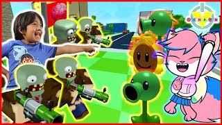 Roblox Plants Vs. Zombies Battlegrounds Let's Play with Ryan Vs Alpha Lexa