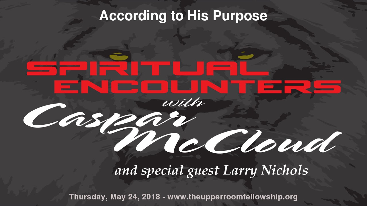 spiritual encounters larry nichols according to his purpose