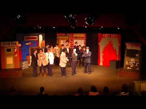 Guys & Dolls - Roosevelt Middle School Musical Theater - 2014